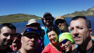 El grupo de Senderismo en el Valle de Arán