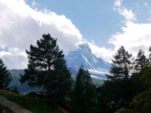 Vista del Cervino desde Zermatt