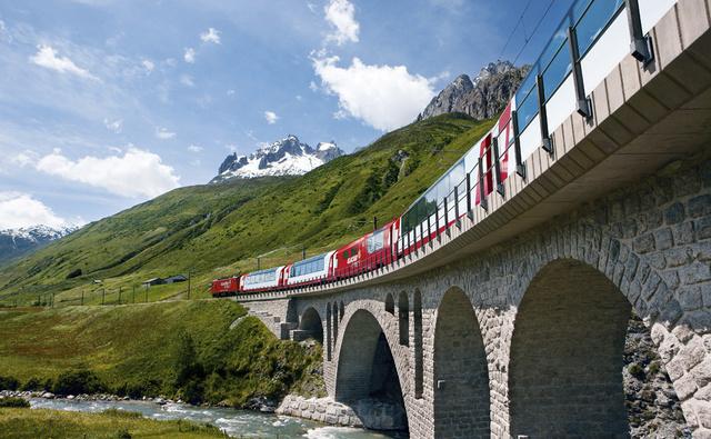 Tren por suiza